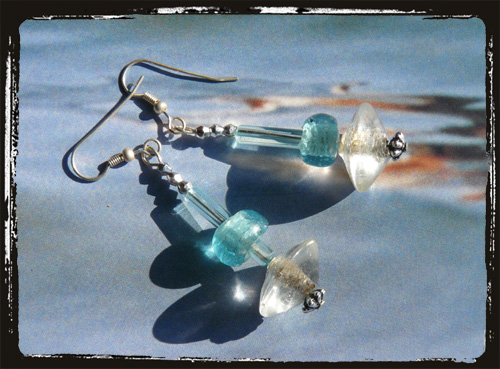 orecchini azzurrocristallo