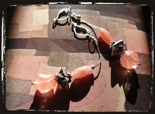orecchini rosacherry
