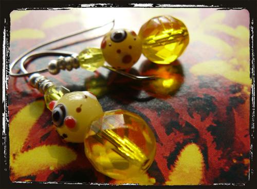 orecchini giallilume