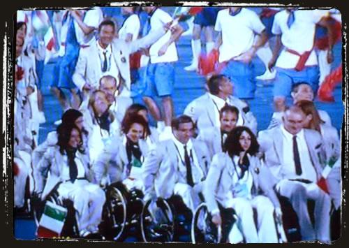 la delegazione italiana alle paralimpiadi di pechino