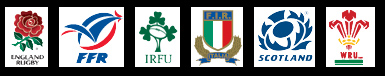 logo-squadre-rugby-sei-nazioni-rbs 6-nations inghilterra francia italia irlanda francia galles